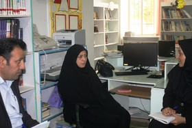 بازدید بهارانه مدیر کل کانون استان قزوین از مرکز تاکستان شماره یک