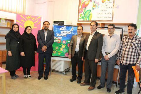 بازدید مدیرکل کانون کهگیلویه و بویراحمد از مرکز فراکز فرهنگی هنری گچساران