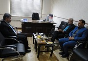 نشست مدیرکل کانون پرورش فکری گلستان با مدیرآموزش و پرورش شهرستان علیآبادکتول