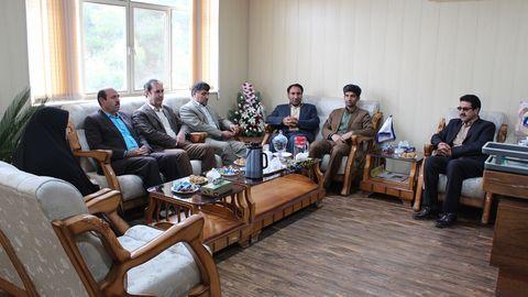دیدار مدیرکل کانون کهگیلویه و بویراحمد با معاون سیاسی امنیتی
