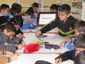نمایشگاه نقاشی و کارگاه آموزشی نه به کیسه های پلاستیکی در مرکز فارسان