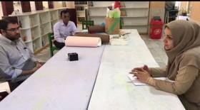 بازدید همکاران معاونت تولید کانون پرورش فکری از مرکز فرهنگی هنری چابهار