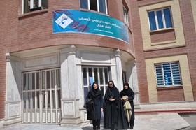 """بازدید همکاران کانون البرز از نمایشگاه """"باهر"""""""
