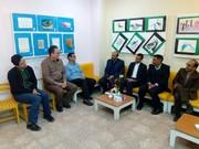 حضور معاون پرورشی آموزش و پرورش در مرکز کاشمر