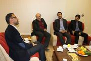 دیدار شهردار و مدیرکل میراث فرهنگی با مدیرکل کانون پرورش فکری استان سمنان