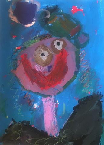 اثر رامیلا جوانی، 6 ساله از مرکز آفرینشهای فرهنگی هنری کانون در تهران
