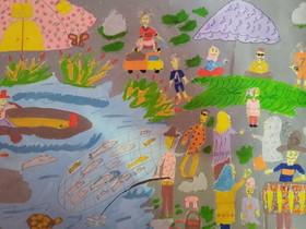 درخشش کودکان کرمانشاهی در مسابقات جهانی نقاشی بلاروس