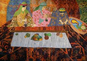 اثر فاطمه صدری 14 ساله عضو مرکز فرهنگی هنری شمارهی دو کانون پارسآباد اردبیل