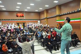 جشن بزرگ منتظران کوچک در کانون پرورش فکری اردبیل