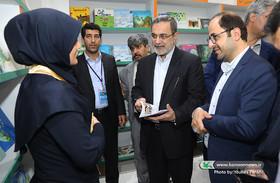 بازدید وزیر آموزش و پرورش از نمایشگاه بینالمللی کتاب تهران