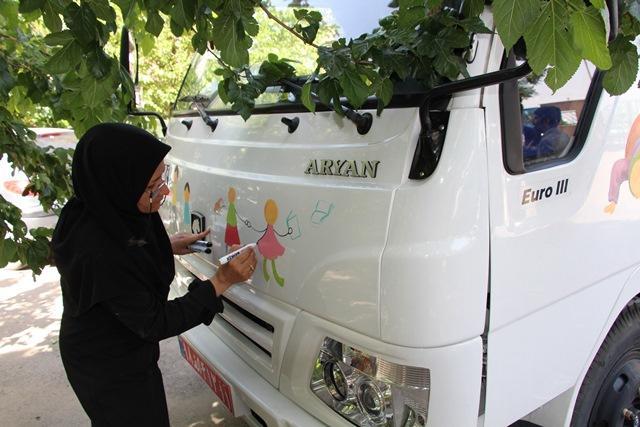 راهاندازی مرکز سیار روستایی در رودبار کرمان