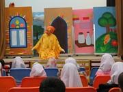 اجرای نمایش گنجشکک اشی مشی در سریش آباد و قروه