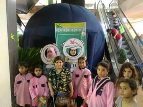 گزارش تصویری از فعالیتهای کانون استان قم در هفتهی فرهنگی قم در نبطیه لبنان ۲