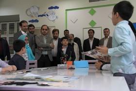 بازدید مدیرعامل کانون از مرکز فرهنگی هنری شماره۷ مشهد و مرکز تخصصی تئاتر کودک