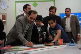 بازدید مدیرعامل کانون از مرکز فرهنگی هنری شماره7 مشهد