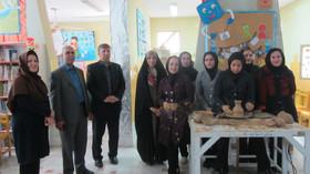 برگزاری كارگاه سفالگری درخرم آباد