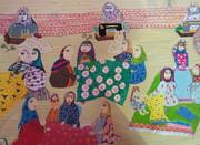 اثر روناک شیروانی در دوازدهمین مسابقه بینالمللی نقاشی بلاروس 2017