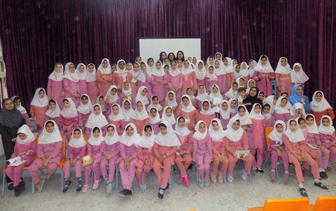 گزارش تصویری از جشن طرح کانون مدرسه هرمزگان