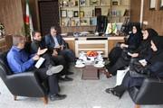 دیدار مدیر کل کانون با مدیر کل پست استان کردستان