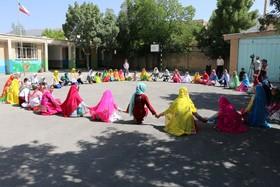 اجرای بازیهای بومی محلی در کانون پرورش فکری کودکان و نوجوانان فارسان