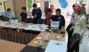 برپایی نمایشگاه  طرح کانون مدرسه در مرکز شمارهی 5 کانون اردبیل