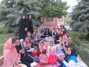 برگزاري اردوی یک روزه ادبی و جشن روزه اولیها اعضاي كانون سرايان