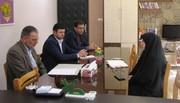 نشست مدیرکل کانون قزوین با دبیر ستاد مبارزه با مواد مخدر استان