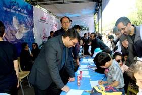 اعلام حمایت کودکان و نوجوانان از همتایان فلسطینی خود در کارگاههای کانون آذربایجان شرقی در روز قدس