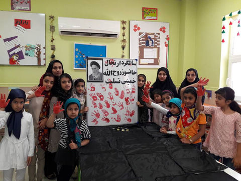 مراسم گرامیداشت رحلت امام خمینی (ره) در مراکز کانون استان بوشهر به روایت تصویر