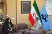 دیدار مدیرکل کانون پرورش فکری استان اردبیل با مدیرکل صداوسیمای مرکز اردبیل