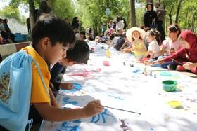 جشنواره نقاشی با موضوع حمایت از محیط زیست