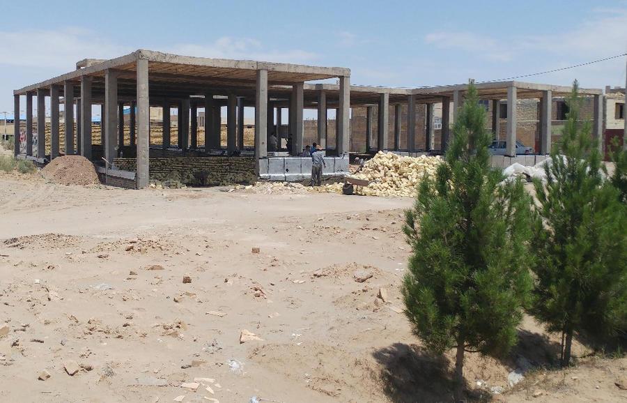 آغاز به کار ساخت پروژهی نیمه تمام مرکز فرهنگی هنری اشکذر