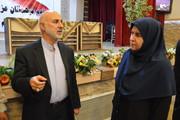 مدیرکل کانون استان کرمانشاه با نمایندهآستان قدس رضوی در استان کرمانشاه