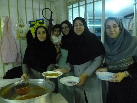 ضیافت افطاری مرکز شماره4 مشهد