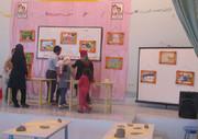 گشایش نمایشگاه آثار سفالگری و نقاشی اعضای هنری کانون دولتآباد