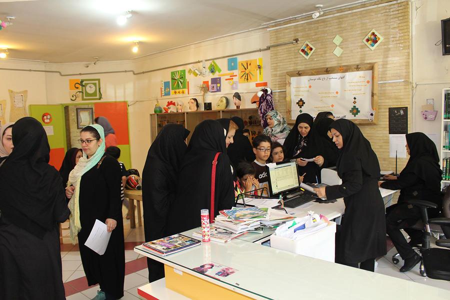 استقبال از کلاسهای کانون استان آذربایجان شرقی در میان خانوادهها