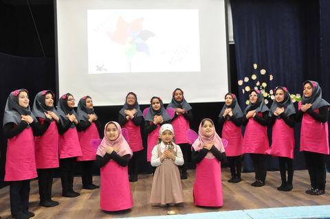 جشن فرفرهها و آغاز فعالیتهای تابستانی مرکز 5 کانون پرورش فکری اردبیل