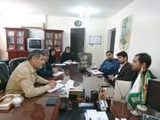 نشست مدیران کل کانون پرورش فکری کودکان و نوجوانان و نهاد کتابخانههای عمومی استان خوزستان
