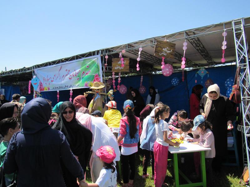 کانون نمین میزبان کودکان و نوجوانان در ششمین جشنوارهی گلهای بابونه
