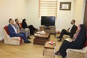 دیدار مدیرکل کتابخانههای عمومی با مدیرکل کانون پرورش فکری استان سمنان