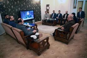 ملاقات مدیرعامل کانون با محمدابراهیم الهیتبار معاون سیاسی امنیتی استاندار کرمانشاه