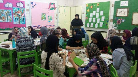 کارگاههای تابستانی مرکز شماره4 مشهد