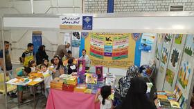 استقبال از فعالیتهای غرفه کانون در نمایشگاه بینالمللی صنایع دستی تبریز ۲۰۱۸