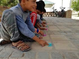 فعالیتهای کتابخانههای سیار کانون خراسان جنوبی در قاب عکس