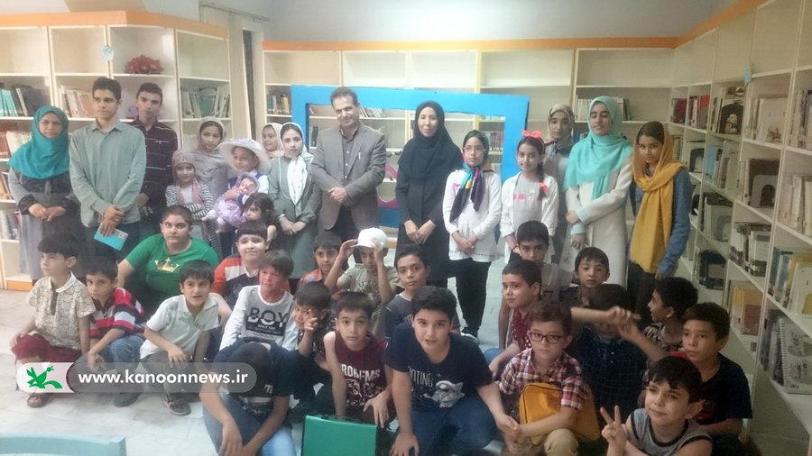 مرکز شماره 35 در روز ملی ادبیات میزبان «محمد گودرزی دهریزی»