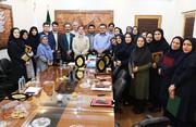 نشست کارکنان کانون گیلان با رئیس شورای اسلامی شهر رشت