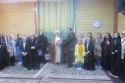 دیدار اعضای کودک و نوجوان با امام جمعه شاهرود
