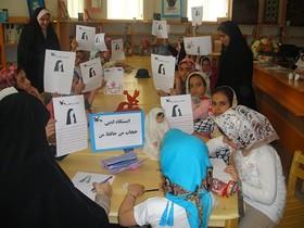 استقبال از کارگاههای هنری و ادبی کانون در اجتماع حافظان حریم خانواده در استان آذربایجان شرقی