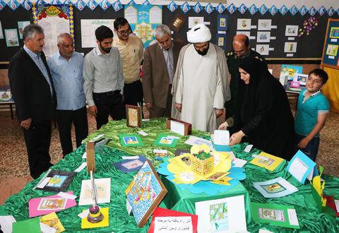 آیین افتتاح نمایشگاه آثار رضوی درکانون تالش