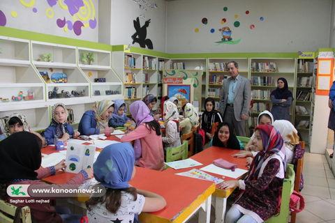 بازدید مدیر کل از مرکز شماره 12 کانون تهران